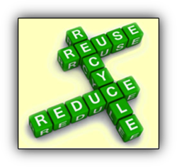 source reduction - reducing waste